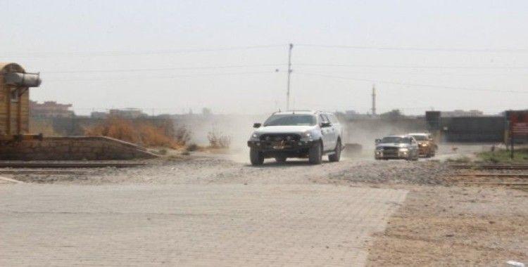 Suriye Milli Ordusu komutanları sınırda inceleme yapıyor