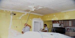 Başkan Gültak'ın talimatıyla şehit annesinin evi yenileniyor