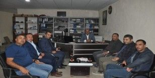 Müdür Tunçel ve Başkan Bulut'tan gazetecilere ziyaret