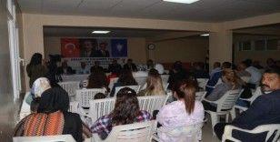 Uludere'de halk toplantısı yapıldı