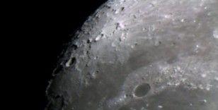 Fen Lisesi öğrencileri Ay'ı görüntüledi