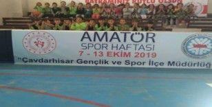 Çavdarhisar'da Amatör Spor Haftası etkinlikleri