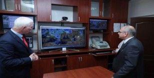 Vali Çakacak'tan Meteoroloji 3. Bölge Müdürlüğüne ziyaret