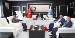 Ürdün Al- Zaytoonah Üniversitesi Akademisyenleri Rektör Karacoşkun'u ziyaret etti