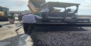 Altınşehir Mahallesi'nde asfalt çalışması yapıldı