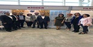 Mikrokredili kadınların ürünleri KİGDER standında