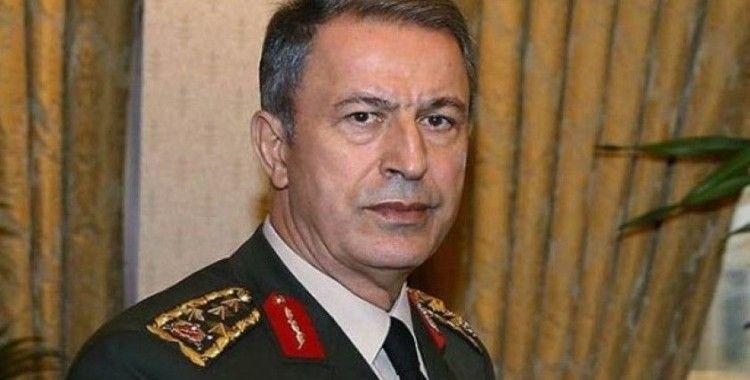 """Milli Savunma Bakanı Akar: """"911 kilometrelik sınırlarımızda terör koridoru oluşturulmasına izin vermeyeceğiz"""""""