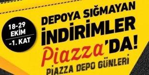 Şanlıurfa Piazza'da  depo günleri başlıyor