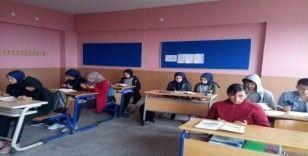 Öğrenciler Mehmetçik'e Fetih Suresi okuyarak dua ettiler
