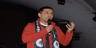 Başkan Günel, Kuşadaı Gençlikspor'un dayanışma gecesine katıldı