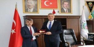 Rektör Uysal'dan Başkan Biçer'e ziyaret