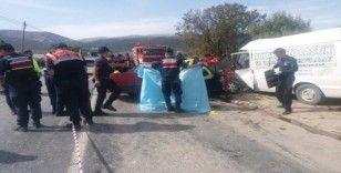 50 yaşındaki çift kazada hayatını kaybetti