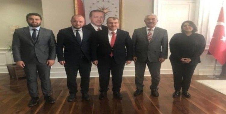 İl Başkanı Karabıyık'ın Ankara temasları