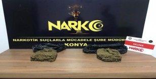 Konya'da uyuşturucu tacirlerine operasyon: 5 gözaltı