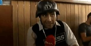 Nusaybin'de gazetecilerin olduğu otele saldırı