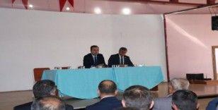 Başkan Arif Teke: Planlanan yatırım ve hizmetlerimiz hedeflerimiz doğrultusunda yapılmaktadır
