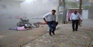 Nusaybin'e havanlı saldırı: Çok sayıda kişi yaralandı