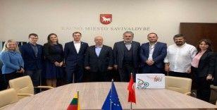 Bayrampaşa heyeti Litvanya'da