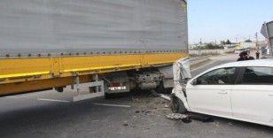 Feci kaza: 2'si çocuk 5 yaralı