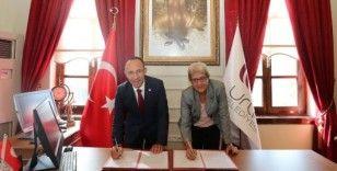Başkan Oğuz'dan kadın kooperatiflerine ve eğitime destek