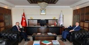 Zonguldak Belediye Başkanı'ndan Çufalı'ya ziyaret