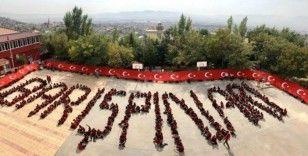 Barış Pınarı Harekatı'na koreografili destek