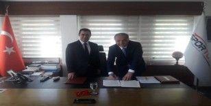 Suluova'ya 8 spor tesisi için imzalar atıldı
