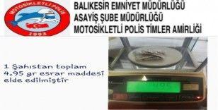 Balıkesir polisinde asayiş uygulaması