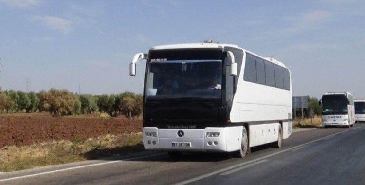 Suriye Milli Ordusu askerleri Şanlıurfa'ya hareket etti