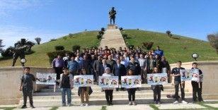 Dumlupınar'da ''Sağlıklı Yaşam Yürüyüşü'' gerçekleştirildi