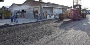 Marangozlar Sitesi ile Çay Deresinde asfalt çilesi bitiyor