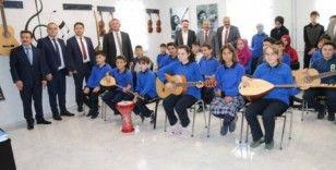 Ortaokulda Müzik Atölyesi açıldı