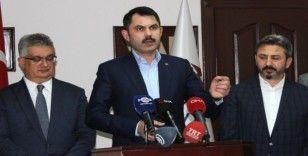 Bakan Kurum 'Güvenli Bölge'deki kentleşmeyle ilgili konuştu