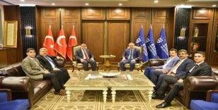 BBP Genel Başkan Yardımcısı Alfatlı'dan Aktaş'a ziyaret