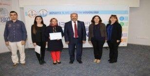 Kütahya'da Mesleki eğitim alanında 'Proje Yazma ve Uygulama Eğitimi' sertifika töreni