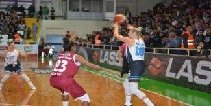 Kadınlar Basketbol Süper Ligi: İzmit Belediyespor: 100 - Elazığ İl Özel İdare: 101
