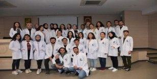 OMÜ'nün kimyager adayları beyaz önlüklerini giydi