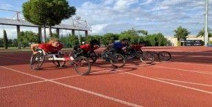Bağcılarlı engelli milli sporcular, Dünya Şampiyonası için kampa girdi
