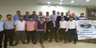 """Başkan Çiloğlu ve yönetimi """"Barış Pınarı Harekatını"""" destekledi"""