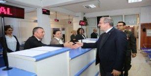 Vali Ömer Toraman'dan Askerlik Şubesi Başkanlığı'na ziyaret