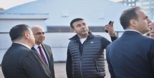 Başkan Akpolat, Levent Mahallesi'nde incelemelerde bulundu