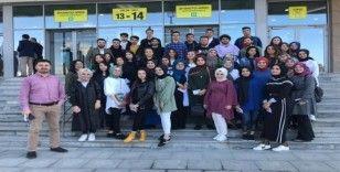 Akyazı MYO öğrencileri 'Woodtech' fuarında