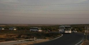 Suriye Milli Ordusu askerlerinin Fırat'ın doğusuna sevkıyatı sürüyor