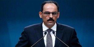 Cumhurbaşkanlığı Sözcüsü Kalın'dan Barış Pınarı Harekatı açıklaması