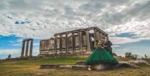 Aizanoi Antik Kenti gelin ve damat adaylarının gözdesi