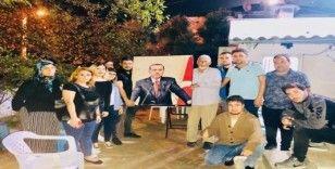 Ak gençlerden Mustafa Amca'ya minnet ziyareti