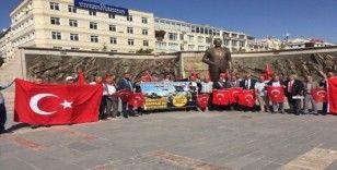 Kayserili muhtarlardan 'Barış Pınarı Harekatı' na destek