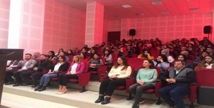 Emet Meslek Yüksekokulu'nda uyuşturucu ve uyarıcı madde konulu konferans