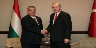 Cumhurbaşkanı Erdoğan, Macaristan Başbakanı Orban ile görüştü