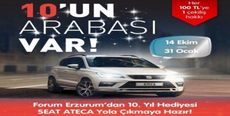 Forum Erzurum, 10.Yıl hediyesi Seat Ateca'yla yola çıkmaya hazır